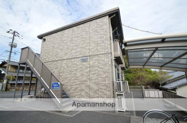 岡山県倉敷市、上の町駅徒歩8分の築12年 2階建の賃貸アパート