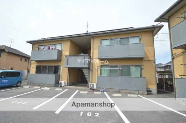 岡山県倉敷市、早島駅徒歩39分の築17年 2階建の賃貸アパート