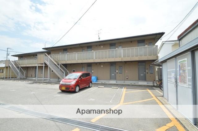 岡山県倉敷市、球場前駅徒歩17分の築11年 2階建の賃貸アパート