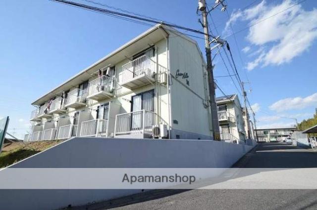 岡山県倉敷市、茶屋町駅徒歩20分の築25年 2階建の賃貸アパート