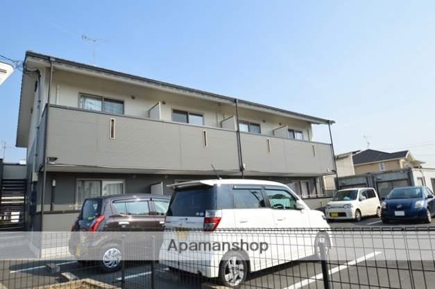 岡山県倉敷市、倉敷駅徒歩19分の築7年 2階建の賃貸アパート