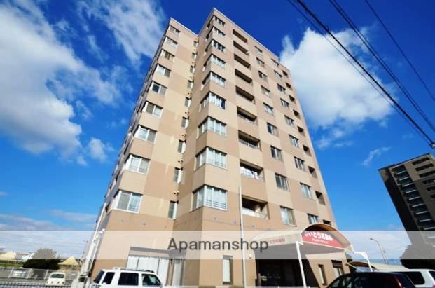 岡山県岡山市南区、妹尾駅徒歩2分の築23年 10階建の賃貸マンション