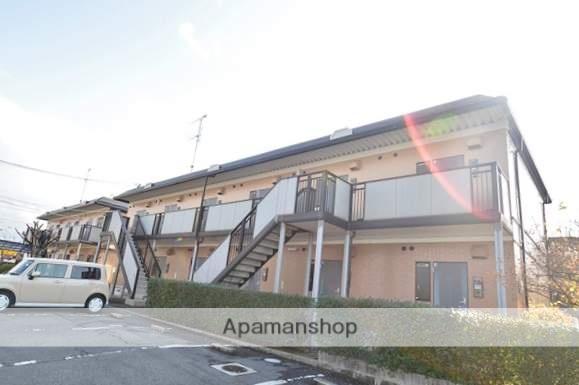 岡山県倉敷市、西阿知駅徒歩17分の築21年 2階建の賃貸アパート