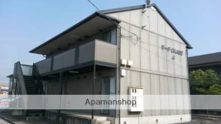 岡山県倉敷市、栄駅徒歩19分の築17年 2階建の賃貸アパート