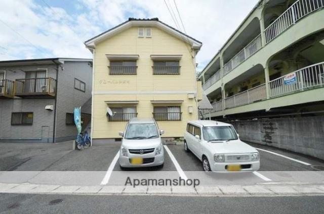 岡山県倉敷市、球場前駅徒歩16分の築25年 2階建の賃貸アパート