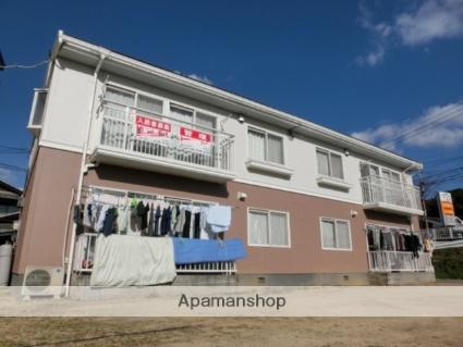 岡山県倉敷市、上の町駅徒歩21分の築28年 2階建の賃貸アパート