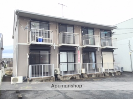 岡山県倉敷市、栄駅徒歩16分の築22年 2階建の賃貸アパート