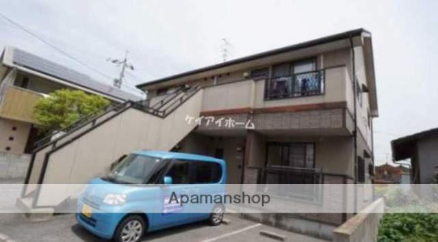 岡山県倉敷市、西富井駅徒歩19分の築14年 2階建の賃貸アパート