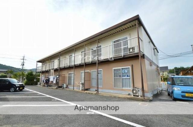 岡山県倉敷市、新倉敷駅バス20分外浜下車後徒歩8分の築33年 2階建の賃貸アパート