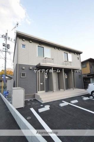 岡山県倉敷市、茶屋町駅徒歩24分の新築 2階建の賃貸アパート