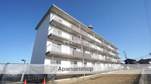 岡山県倉敷市、中庄駅徒歩36分の築44年 4階建の賃貸マンション