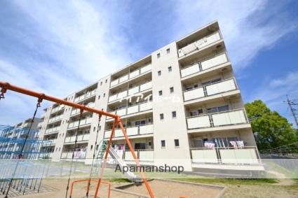 岡山県都窪郡早島町、中庄駅徒歩41分の築44年 5階建の賃貸マンション