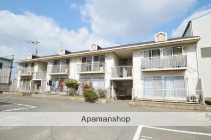 岡山県倉敷市、常盤駅徒歩13分の築27年 2階建の賃貸アパート