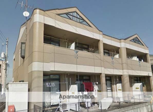 岡山県倉敷市、茶屋町駅徒歩3分の築19年 2階建の賃貸アパート