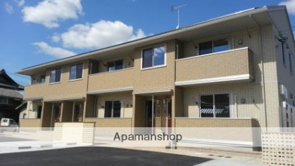 岡山県倉敷市、新倉敷駅徒歩45分の築2年 2階建の賃貸アパート