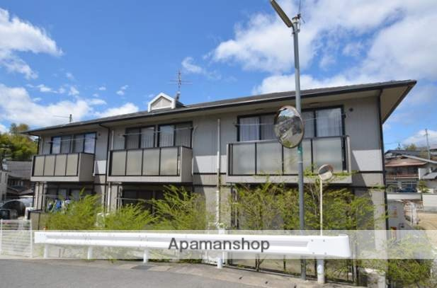 岡山県都窪郡早島町、早島駅徒歩12分の築19年 2階建の賃貸アパート