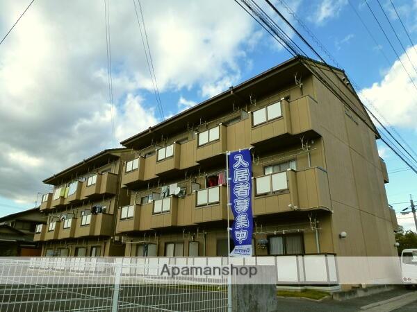 岡山県倉敷市、栄駅徒歩21分の築21年 3階建の賃貸マンション