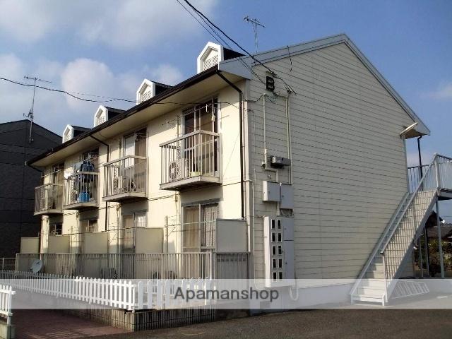 岡山県倉敷市、栄駅徒歩22分の築28年 2階建の賃貸アパート