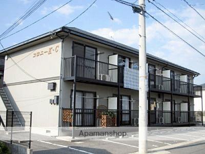 岡山県総社市、服部駅徒歩38分の築20年 2階建の賃貸アパート