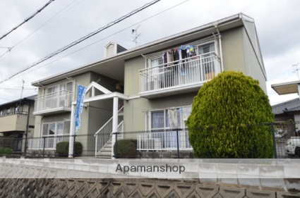 岡山県都窪郡早島町、早島駅徒歩11分の築25年 2階建の賃貸アパート