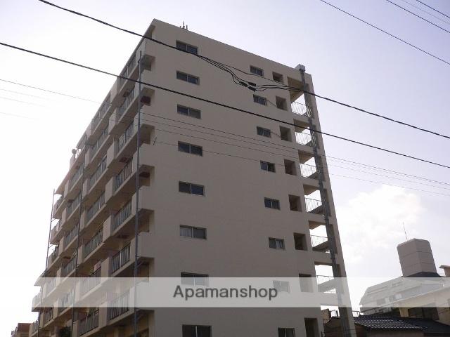 岡山県岡山市北区、岡山駅徒歩10分の築36年 9階建の賃貸マンション