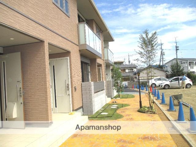 岡山県岡山市北区、法界院駅徒歩10分の築3年 2階建の賃貸アパート