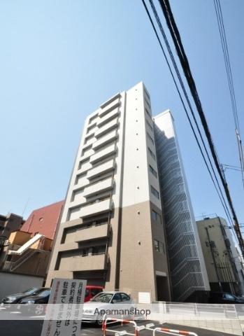 岡山県岡山市北区、岡山駅徒歩10分の築4年 11階建の賃貸マンション