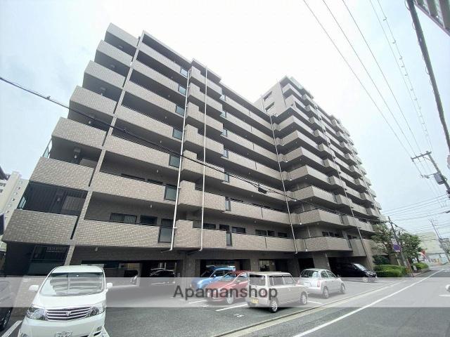 岡山県岡山市北区、岡山駅徒歩15分の築23年 11階建の賃貸マンション