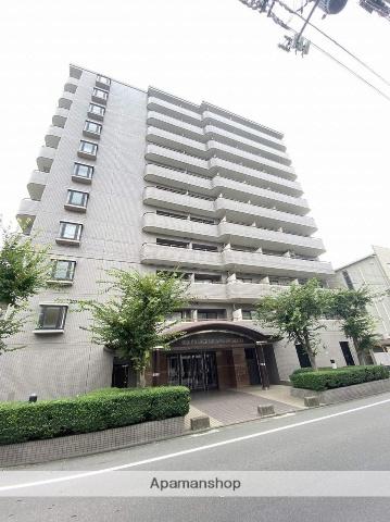 岡山県岡山市北区、岡山駅徒歩14分の築27年 11階建の賃貸マンション