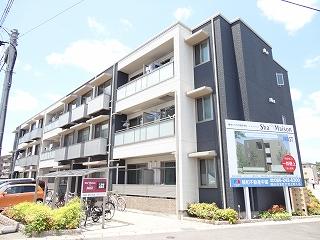 岡山県岡山市北区、岡山駅徒歩26分の築7年 3階建の賃貸アパート