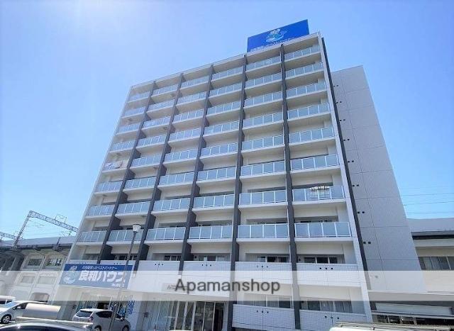 岡山県岡山市北区、岡山駅徒歩7分の新築 10階建の賃貸マンション