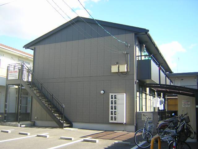 岡山県岡山市北区、岡山駅徒歩21分の築15年 2階建の賃貸アパート