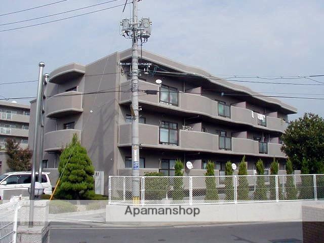 岡山県岡山市中区、西川原駅徒歩20分の築25年 3階建の賃貸マンション