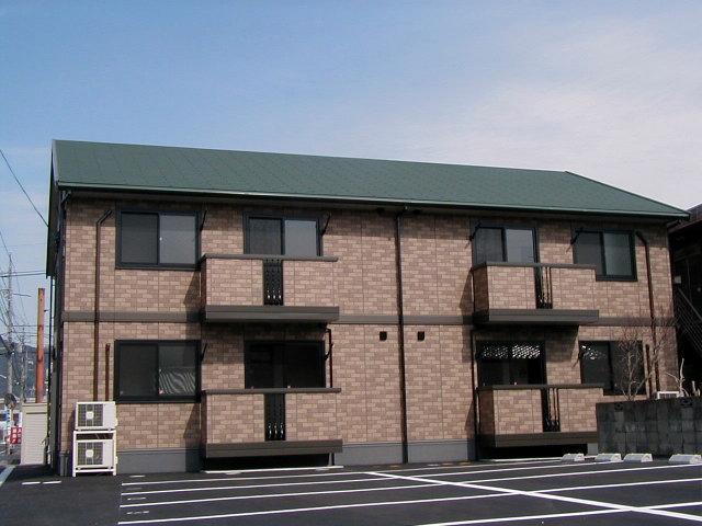 岡山県岡山市中区、高島駅徒歩17分の築14年 2階建の賃貸アパート