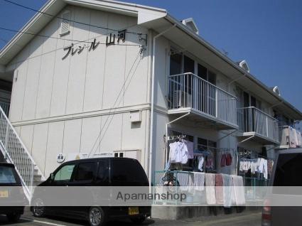 岡山県岡山市北区、備前一宮駅徒歩17分の築26年 2階建の賃貸アパート
