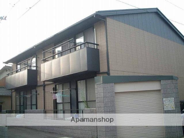 岡山県岡山市中区、西川原駅徒歩5分の築15年 2階建の賃貸アパート