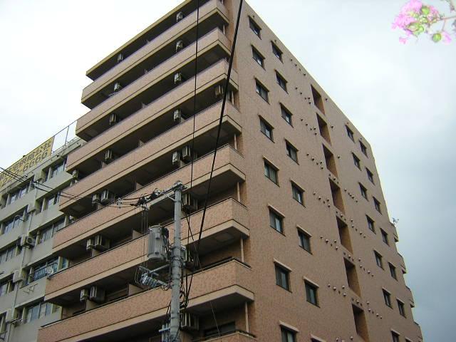 岡山県岡山市北区、岡山駅徒歩19分の築28年 10階建の賃貸マンション