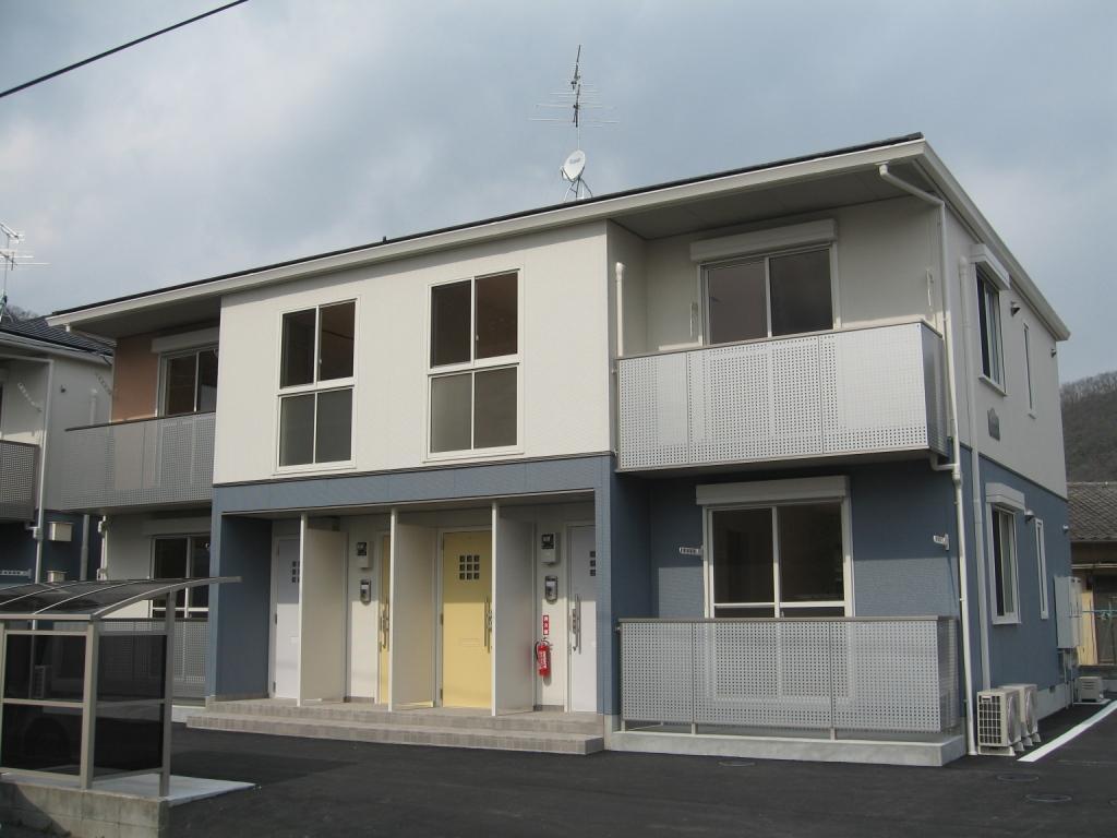 岡山県岡山市北区、玉柏駅徒歩37分の築9年 2階建の賃貸アパート