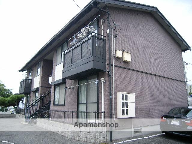 岡山県岡山市中区の築19年 2階建の賃貸アパート