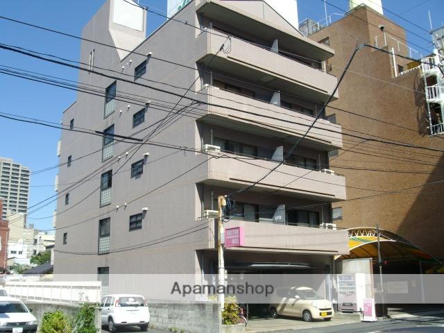 岡山県岡山市北区、岡山駅徒歩11分の築28年 5階建の賃貸マンション