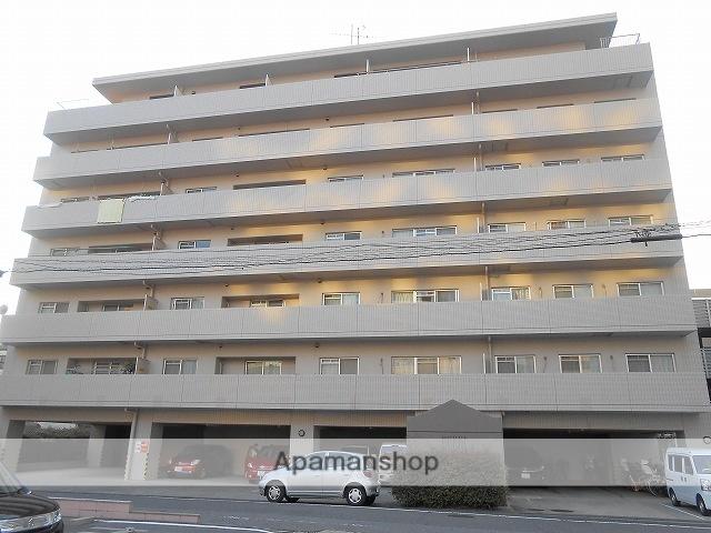 岡山県岡山市北区、岡山駅徒歩11分の築26年 7階建の賃貸マンション