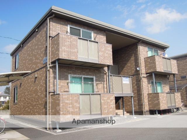 岡山県岡山市中区の築9年 2階建の賃貸アパート