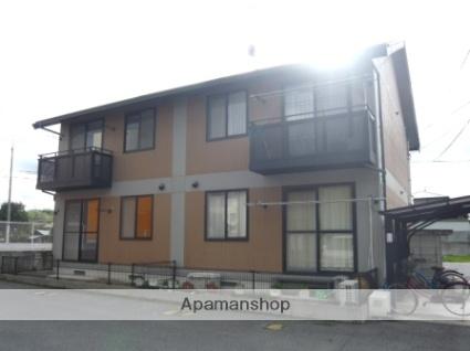 岡山県岡山市北区、足守駅徒歩20分の築20年 2階建の賃貸アパート