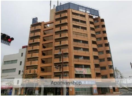 岡山県岡山市北区、岡山駅徒歩26分の築29年 10階建の賃貸マンション