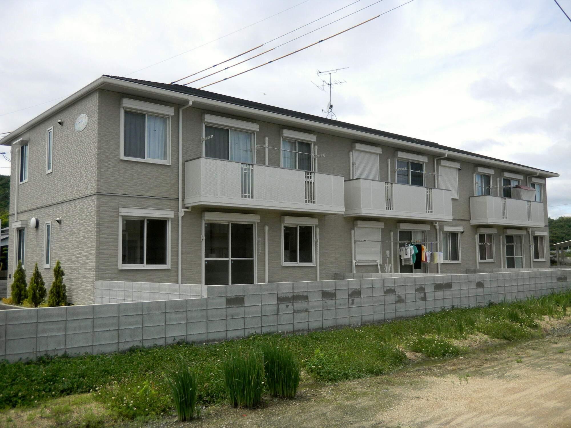 岡山県岡山市南区、彦崎駅徒歩12分の築6年 2階建の賃貸アパート