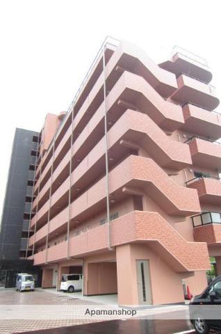 岡山県岡山市北区、備前一宮駅徒歩20分の築5年 9階建の賃貸マンション
