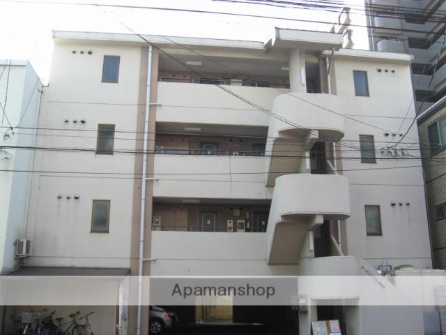 岡山県岡山市北区、岡山駅徒歩12分の築21年 4階建の賃貸マンション
