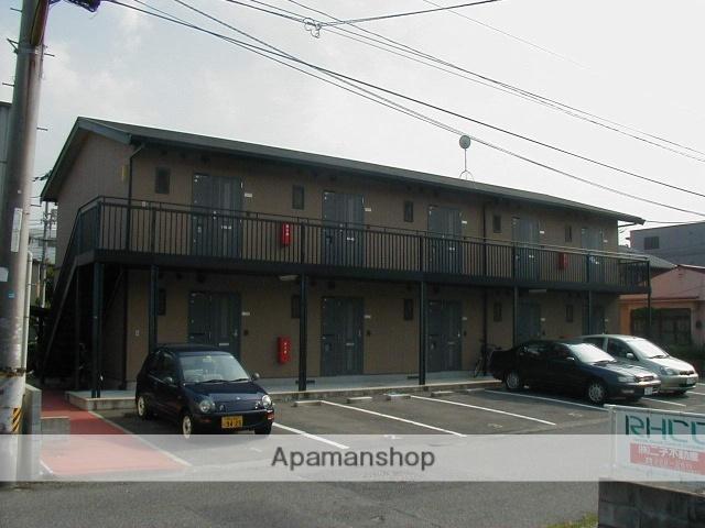 岡山県岡山市北区、岡山駅徒歩36分の築19年 2階建の賃貸アパート