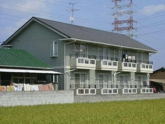 岡山県岡山市北区、北長瀬駅徒歩26分の築21年 2階建の賃貸アパート