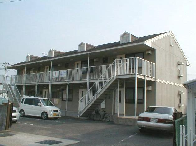 岡山県岡山市北区、北長瀬駅徒歩22分の築28年 2階建の賃貸アパート